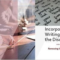 Incorporating Writing Across Disciplines
