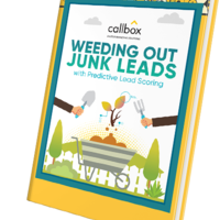 Weeding Out Junk Leads With Predictive Lead Scoring (e-Book)