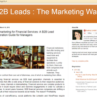 Telemarketing for Financial Services: A B2B Lead Generation Guid