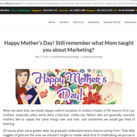 Happy Mother���s Day! Still remember what Mom taught you about