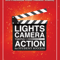 2018 Professional School Counselor Academy: Lights, Camera, Taki