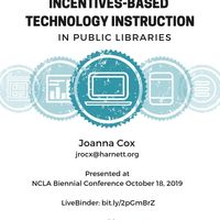 Incentives-Based Technology Instruction in Public Libraries