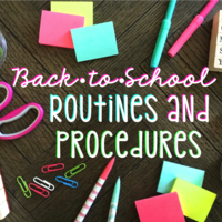Procedures and Routines Booklet