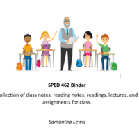 SPED 462