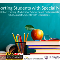 Resources for Online Training Modules for School-based Professio