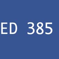 ED 385 Thematic Unit