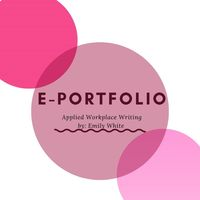 E-portfolio Applied Workplace Writing