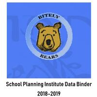 Bitely 2018-2019 School Planning Institute- Data Binder