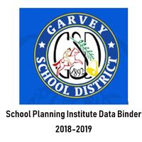 Duff 2018-2019 School Planning Institute- Data Binder