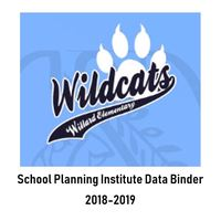 Willard 2018-2019 School Planning Institute- Data Binder