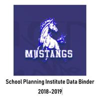 Garvey  2018-2019 School Planning Institute- Data Binder