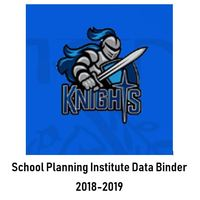 Temple  2018-2019 School Planning Institute- Data Binder
