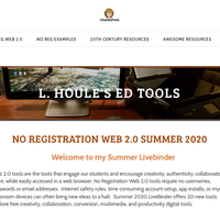 No Registration Web 2.0 Tools Summer 2020