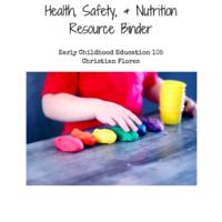 Health, Safety, and Nutrition Resource Binder