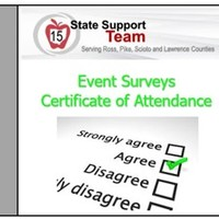 Event Survey/Certificate of Attendance
