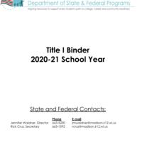 Title I 2020-21