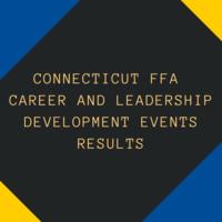 Connecticut FFA Development Events Results