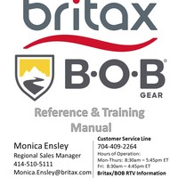 ISS Britax/BOB Resource & Training Binder