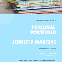 Teacher Librarian Portfolio