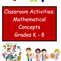 Mathematical Concepts - Classroom Activities for K-8