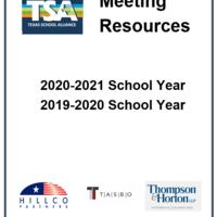 TSA Meeting Resources