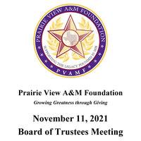 May 13, 2021 Board of Trustees Meeting