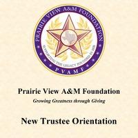 Trustee Orientation Binder