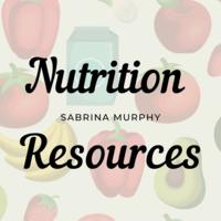 Nutrition Portfolio