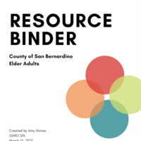 Resource Binder: County of San Bernardino