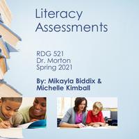 Literacy Assessments
