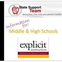 Explicit Instruction - Middle & High School