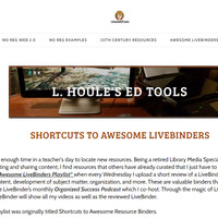 Shortcuts to Awesome LiveBinders