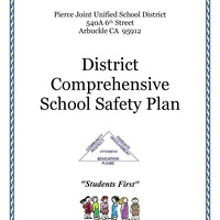 Public Pierce JUSD District Comprehensive School Safety