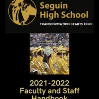 2021 - 2022 Seguin High School Faculty Handbook