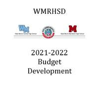 2021-2022 Budget Development