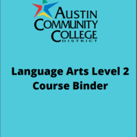 Language Arts Level 2 Course  Binder