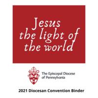 2021 Diocesan Convention Binder