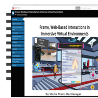 FRAME, Web-Based Interactions in Immersive  Virtual Environments