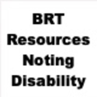 BRT Resources Noting Disability