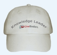 LiveBinders Knowledge Leader Hat