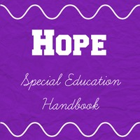Hope Special Education Handbook