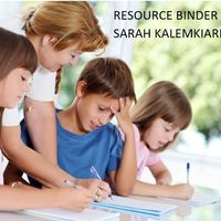 ED 6175- Resource Binder
