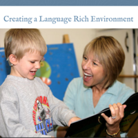 Creating a Language Rich Environment