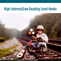High Interest/Low Reading Level Books