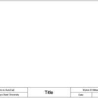 Intro to Auto-CAD