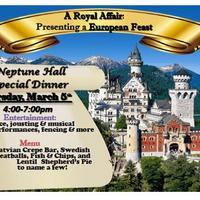 A Royal Affair: Featuring a European Feast