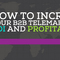 How to Increase your B2B Telemarketing ROI and Profitability