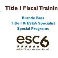 Title I Fiscal Training