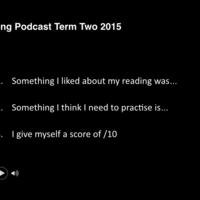 Literacy Tasks Term Two 2015