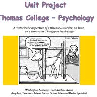 Thomas Psychology Unit Project